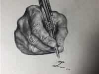 赣州纹身手绘图