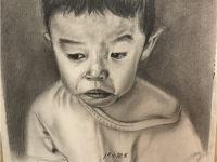 赣州纹身人物图案手绘图