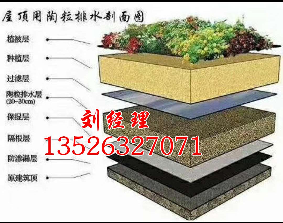 河南屋顶专用轻质陶粒