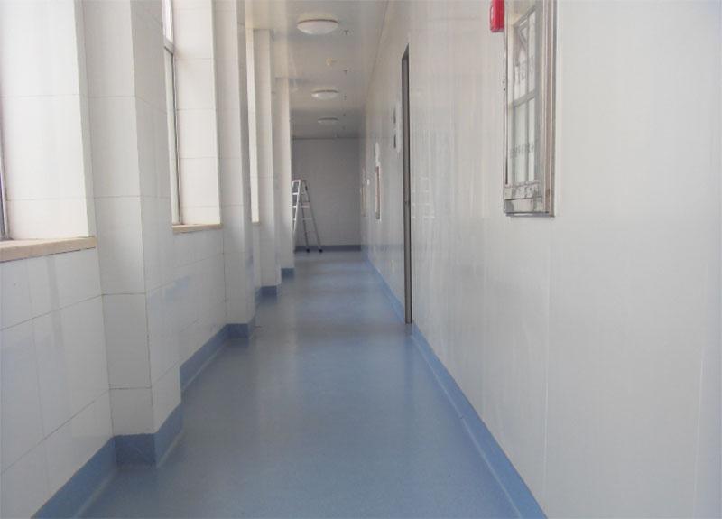 医院走廊PVC地板
