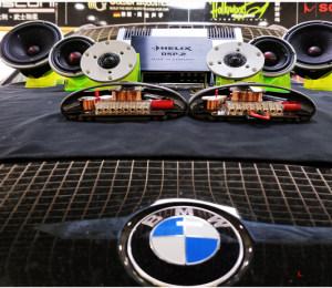 宝马X6汽车音响改装丹麦绅士宝汽车音响