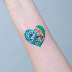 小清新 系列 纹身作品
