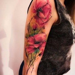 唯美 系列 纹身作品