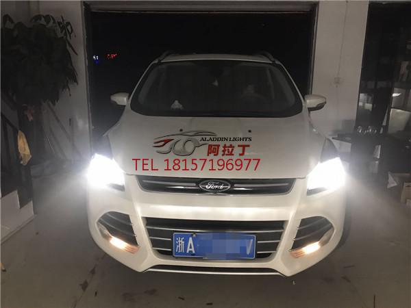 翼虎车灯升级案例,杭州改灯