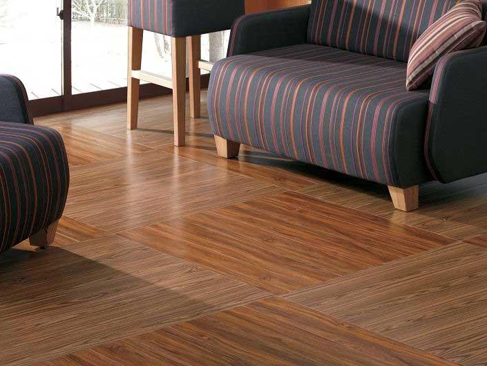 木纹PVC地板效果图