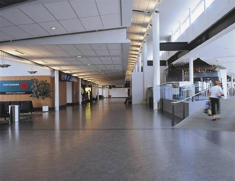走廊PVC地板效果图
