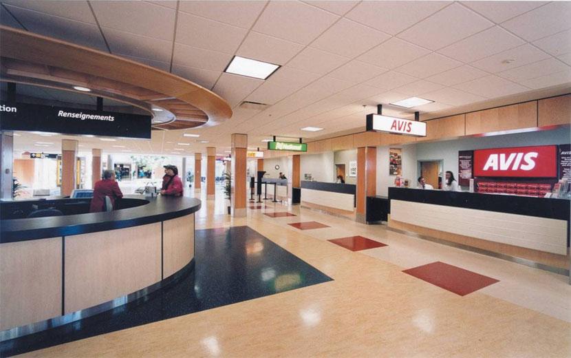商場大廳PVC塑膠地板