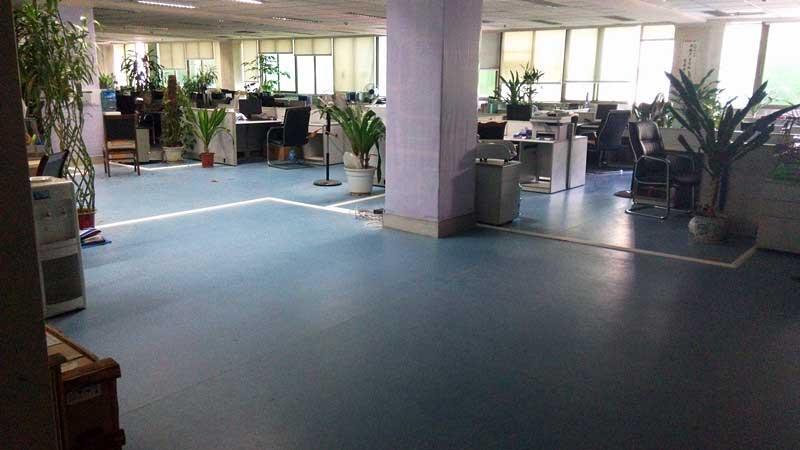 商用PVC塑胶地板