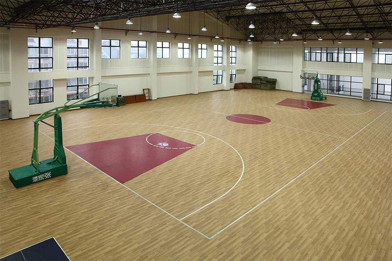 室內籃球場館PVC地板