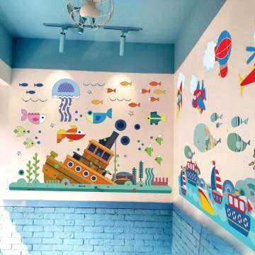 牆繪引領起牆體美化軟裝飾風潮