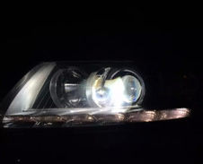 老A6陞級HW海拉5加漢雷燈泡