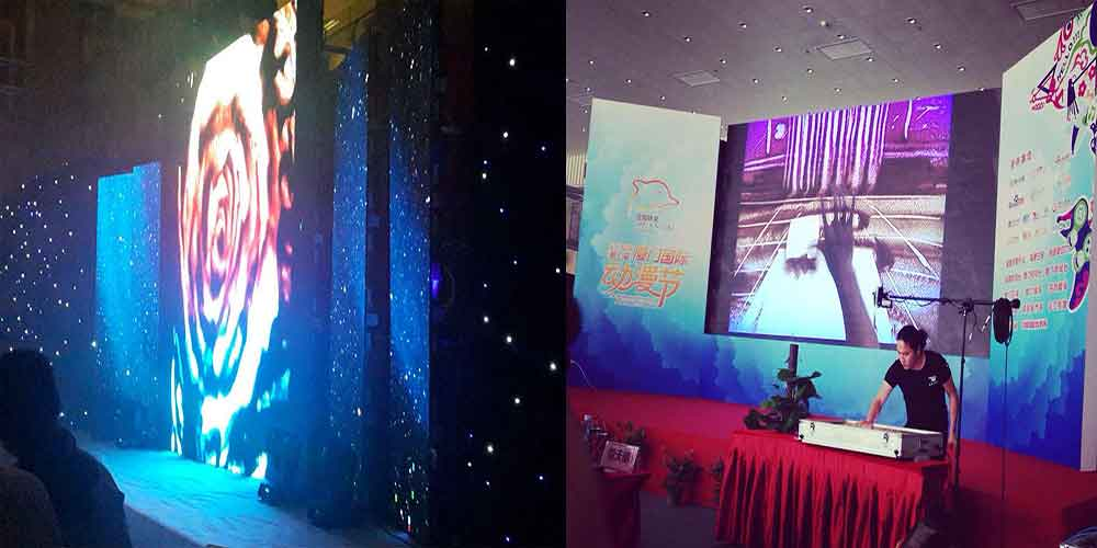 《厦门国际动漫节》沙画表演