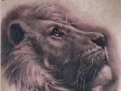 郑州纹身狮子纹身