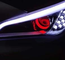 现代索九阿帕六套装+专用转向灯+恶魔眼+日行灯