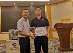 荣获技术证书