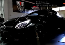 AMG C63 Cuope MTB stage2 614PS/850NM
