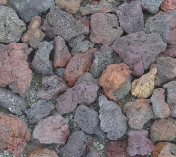火山巖、清水磚