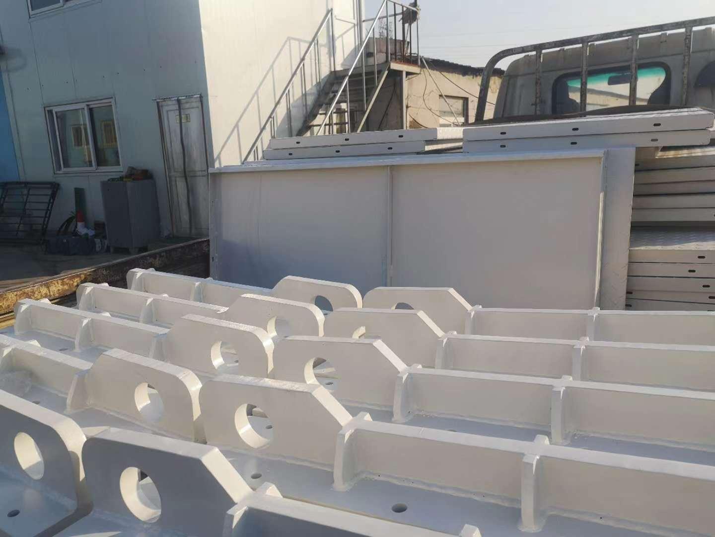 重型設備承重梁噴塑