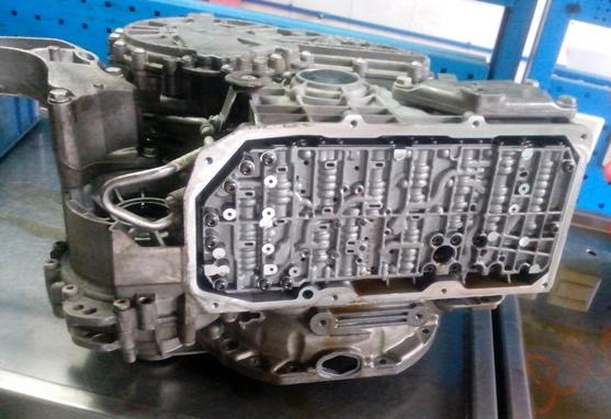 奔驰GCL自动变速箱维修