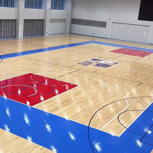 高端篮球场翻新