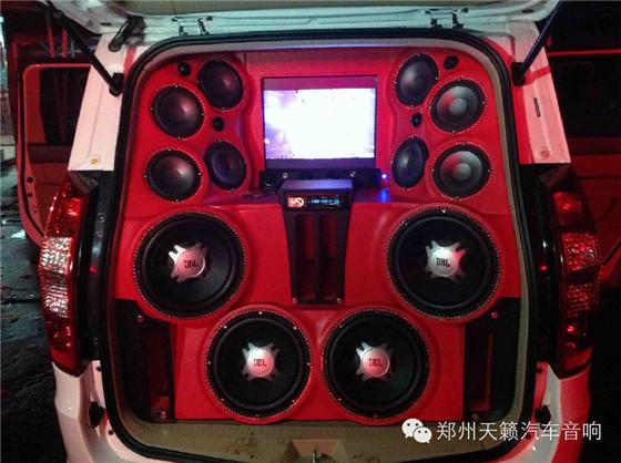 宏光S改装JBL系列试音车
