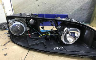马六原车透镜老化升级镀膜增亮版GTR双光透镜+欧司朗CBI套装完美搭配