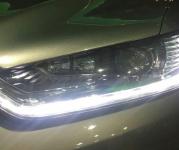 福特蒙迪欧,更换过大灯总成后再次近光升级定制海拉五+进口欧司朗套装