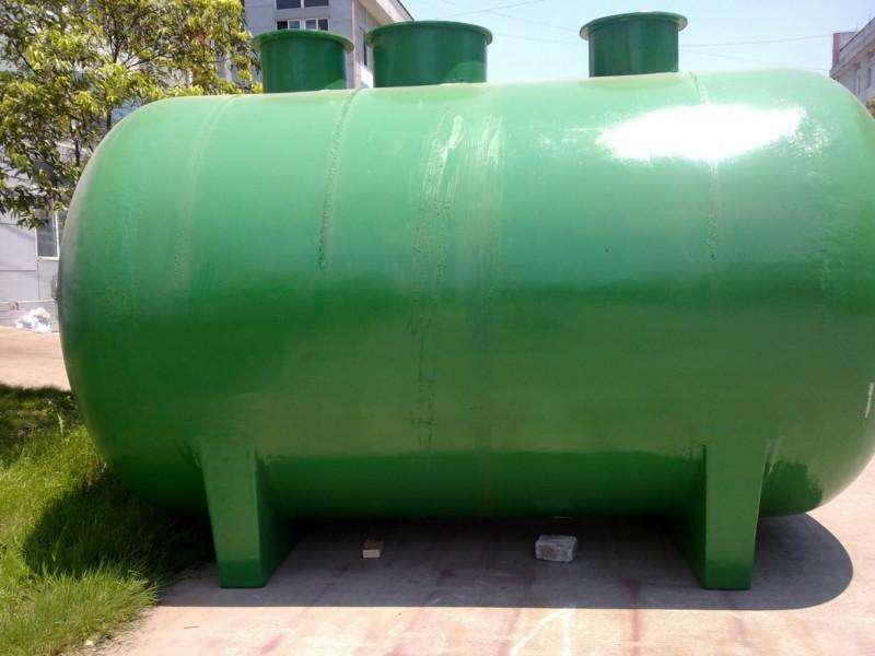 玻璃钢化粪池取代水泥化粪池是必不可免