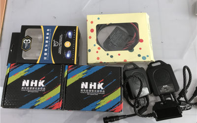 荣威RX5原车透镜卤素升级氙气大灯
