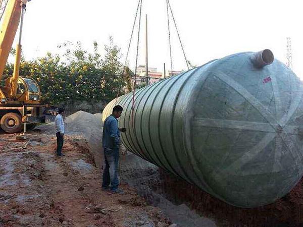 厂家分析应该怎样完成化粪池的吊装工作?