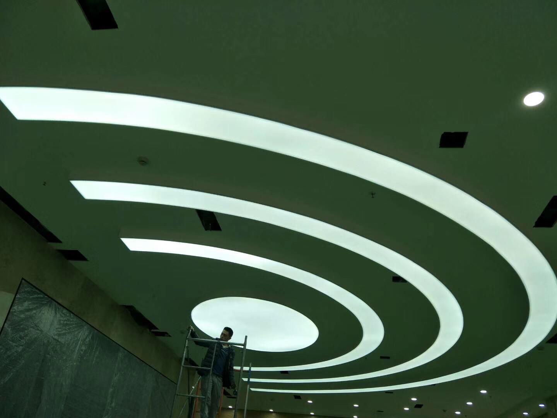 造型透光膜吊顶