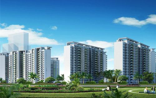 绿地·悦澜湾目前建面88㎡3房户型在售 明年交房