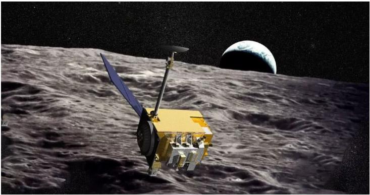NASA月球勘测轨道器仪器观察到月球表面有水分子运动