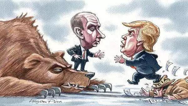 特朗普式的反擊,普京遇到對手了