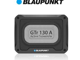 德国(蓝宝BLAUPUNKT)汽车音响改装车载有源超薄低音炮GTr 130 A 带线控调节