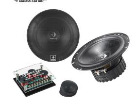 德国HELIX喜力士汽车音响改装P62C套装喇叭6.5寸两路两三分频扬声器中音低音高音单元全国包施工 P63三分频套装喇叭