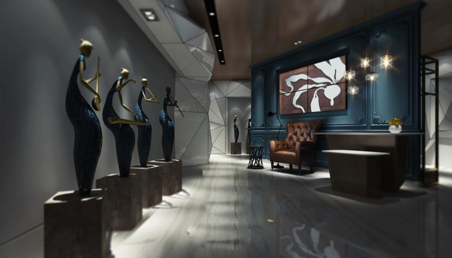 上海龍玉會所設計案例/上海會所設計公司