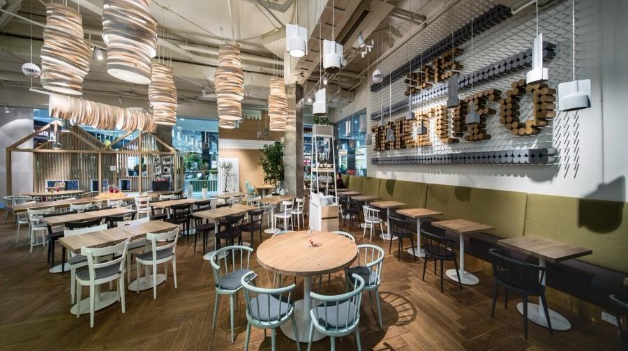 谷 豐餐廳方案設計/上海裝潢公司