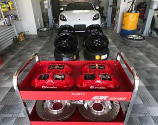 保时捷 boxster718 升级原厂20寸轮组 倍耐力P zero高性能轮胎 brembo GT制动卡钳套装保时捷 boxster718 升级原厂20寸轮组 倍耐力P zero高性能轮胎 brembo GT制动卡钳套装
