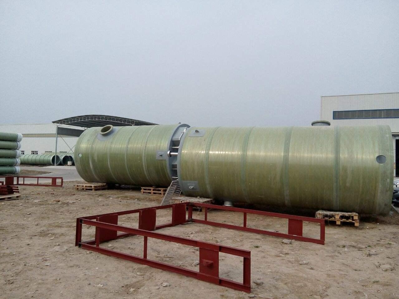 厦门玻璃钢一体化泵站生产厂家