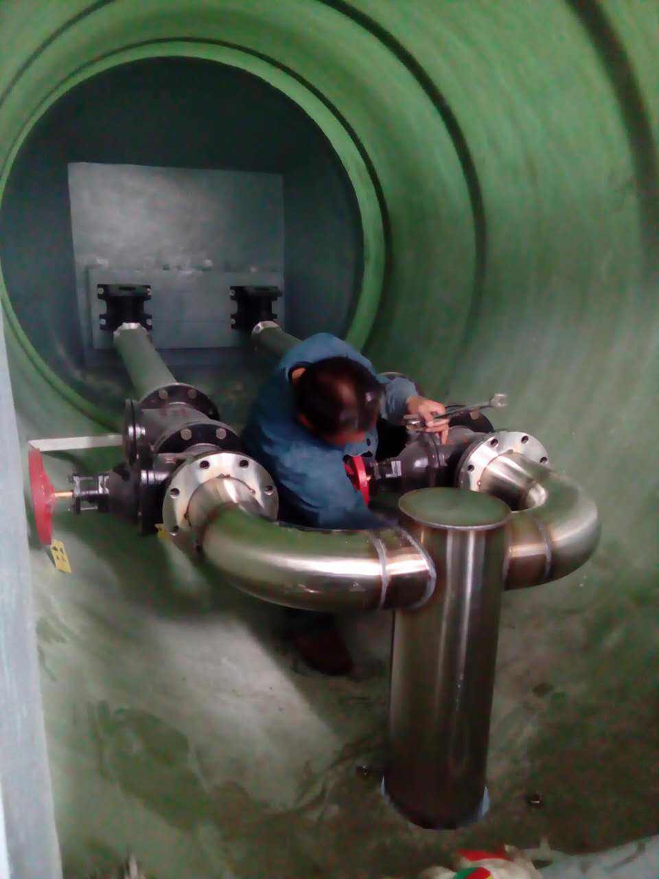 玻璃钢一体化泵站8