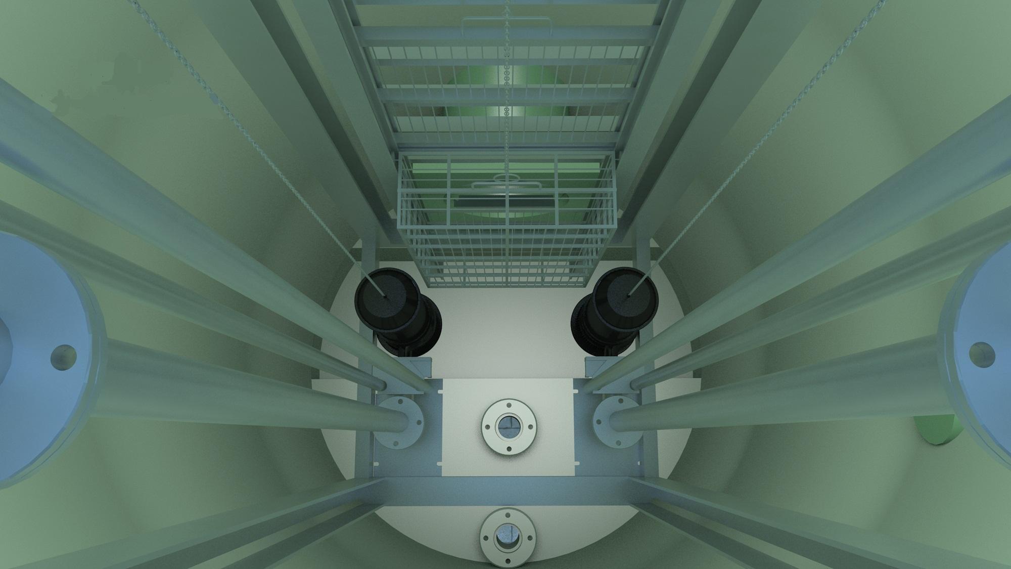 玻璃钢一体化泵站9