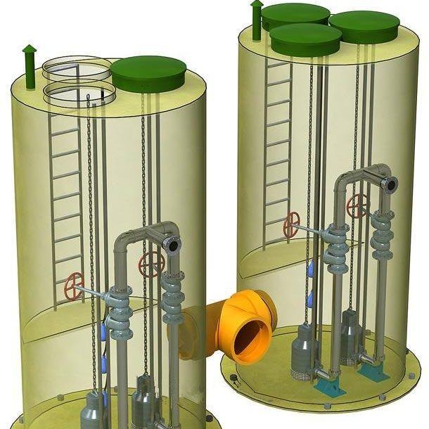 厦门玻璃钢一体化泵站优点