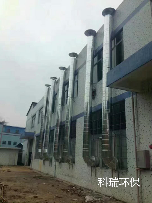 杭州通风设备厂家管道案例