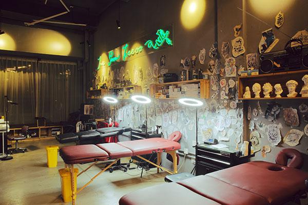 刺青工作台「隐秀刺青」
