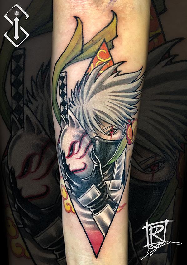火影纹身-卡卡西纹身-动漫纹身刺青图片鉴赏
