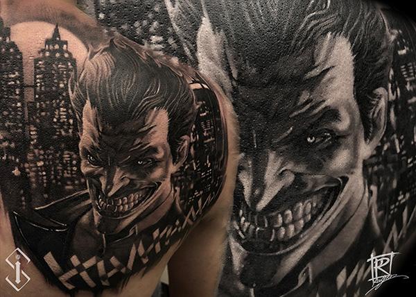 人物纹身_人物纹身图案_纹身人物手稿图片