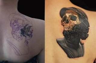 纹身后悔了怎么办?杭州刺青专业纹身师为您从新设计