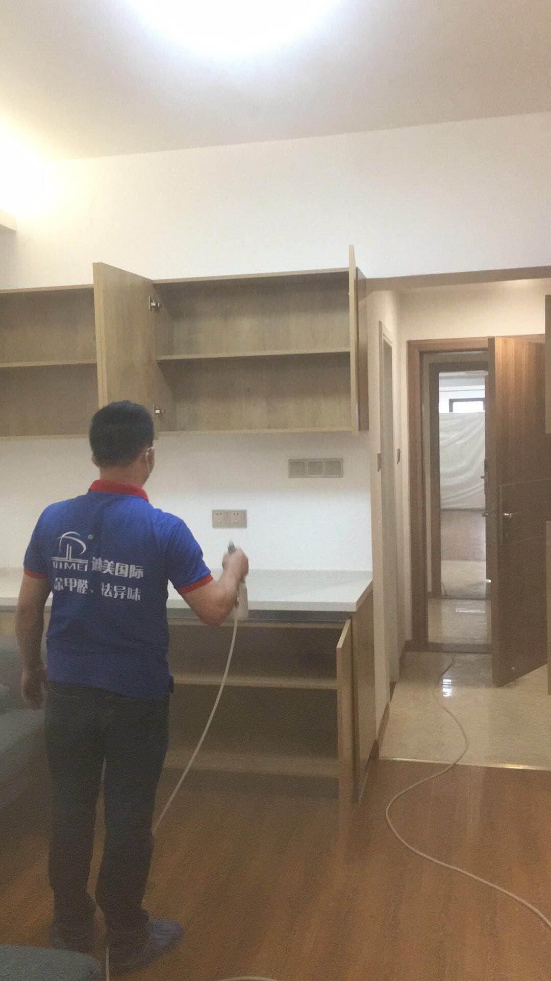 漳州漳浦新都驿田酒店20楼大型空气治理工程完毕