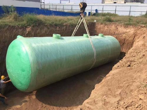 福州玻璃钢化粪池的搬运过程和安装注意事项
